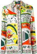 Emilio Pucci ethnic print shirt - women - Silk - 42
