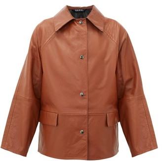 Kassl Editions Reversible Leather Jacket - Brown