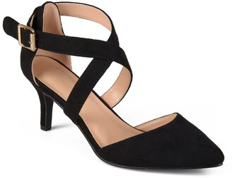 Journee Collection Dara Cross Strappy Pump