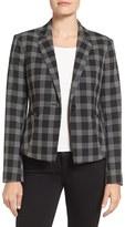 Ellen Tracy Women's Check Plaid Jacket