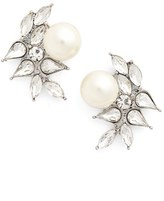 Cara Women's Imitation Pearl Earrings