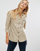Maison Scotch Safari Utility Shirt