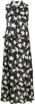 Societe Anonyme floral-print dropped-waist dress
