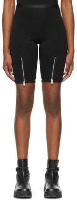 Alyx Black Zippered Biker Shorts