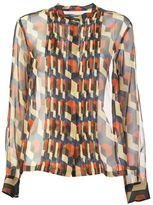 Dries Van Noten Cakung Geometric Print Shirt