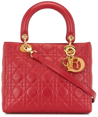 Christian Dior pre-owned Lady Cannage 2way bag