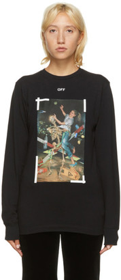 Off-White Black Pascal Long Sleeve T-Shirt