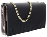 Versace EE3VOBPO1 E899 Black Wallet On A Chain