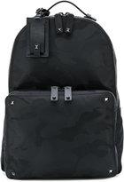 Valentino Camouflage backpack - men - Leather/Nylon - One Size