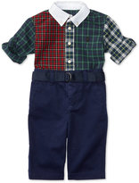 Ralph Lauren Boys' Poplin Shirt & Twill Pants Set