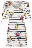 George Floral Print Tunic Top