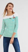 Esprit EDC- Stretch T-shirt with patches