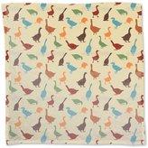 uneekee Gabbling Goose Napkin Linen Woven Polyester Custom Printed
