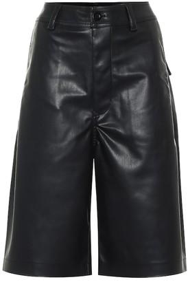 Rick Owens DRKSHDW faux leather shorts