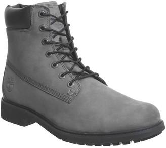 Timberland Mens Slim Boots Eiffel Tower Grey Nubuck