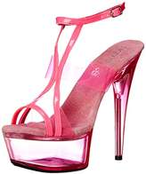 The Highest Heel Women's Glow-111 6 Inch Platform Sandal