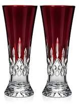 Waterford Lismore Red Pilsner, Set of 2