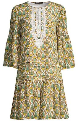 Kobi Halperin Lulu Silk A-Line Dress