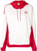 Puma panelled hoodie