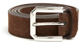 Brunello Cucinelli Brushed-suede belt