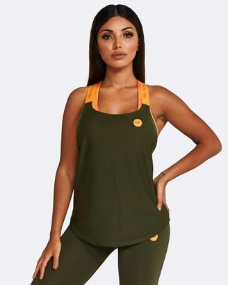 Nicky Kay - Women's Orange Singlets - Mesh Tank - Size One Size, XS at The Iconic