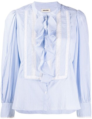 Zadig & Voltaire Temple striped shirt