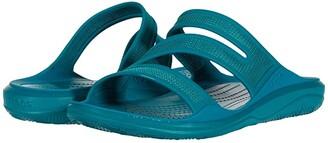 Crocs Swiftwater Telluride Sandal (Black/Black) Women's Sandals