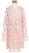 Bardot Girl's Junior Elsa Leaf Mesh Dress