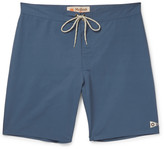 Mollusk - Pennant Long-length Cotton-blend Swim Shorts
