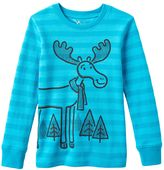 Baby Boy Jumping Beans® Long Sleeve Striped Thermal Graphic Tee