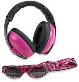 BaBy BanZ Earmuffs and Infant Hearing Protection and Sunglasses Combo 0-2 Years, Magenta by