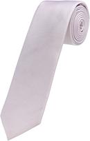 Oxford Tie Silk Solid Pink Regular