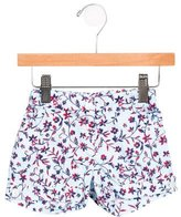 Oscar de la Renta Girls' Floral Print Mini Shorts w/ Tags