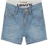Levi's Light Wash Pull Up Shorts