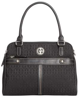 Giani Bernini Annabelle Signature Swagger Satchel, Created for Macy's