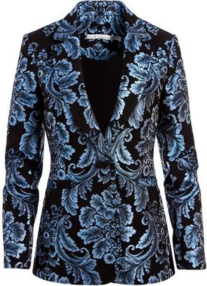 Alice + Olivia Bristol jacquard tailored blazer