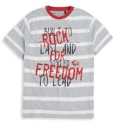 Buffalo David Bitton Boy's Striped Graphic Tee