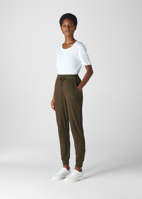 Washed Linen Jogger