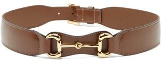 Gucci Horsebit Leather Belt - Brown