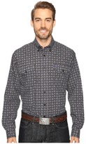 Cinch Long Sleeve Plain Weave Print Double