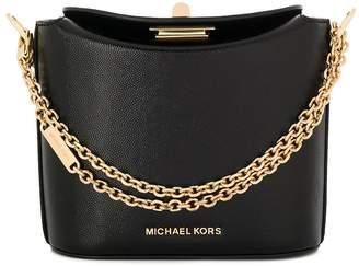MICHAEL Michael Kors embossed chain mini satchel bag