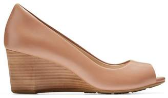 Cole Haan Sadie Peep Toe Wedge Heels