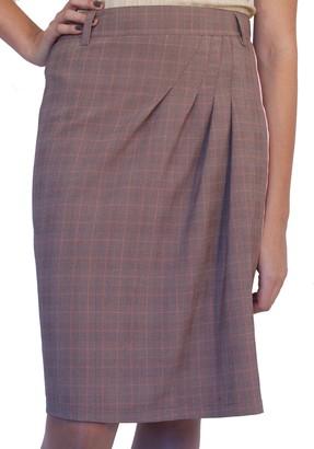 Souvenir Fashion Souvenir-Fashion New Office Work Lined Everyday Warm Hot Winter Wool Skirt Grey Pink 8 10 12 14 16 18 20 22 (12)