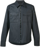 Belstaff zipped shirt jacket - men - Cotton - S
