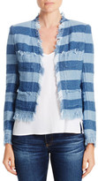 AG Adriano Goldschmied Capucine Stripe Jacket