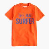 J.Crew Boys' short-sleeve mad surfer rash guard