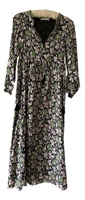 Masscob Green Cotton Dresses