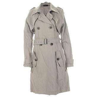Ikks \N Beige Cotton Coat for Women
