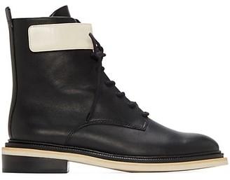 Mercedes Castillo Renah Leather Combat Boots