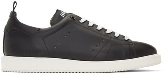Golden Goose Black and White Starter Sneakers
